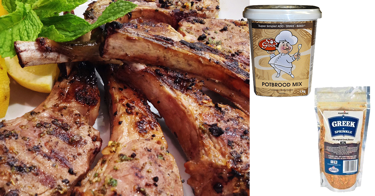 Crown National Greek Lamb Chops Products