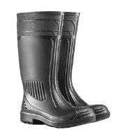 Gumboots in steel toe caps as well as non-steel toe caps. – SKGBNST10BL