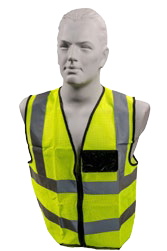Lime Coloured Reflective Vest -SKRVLS